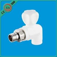 China Non Toxic Water Filter Pipe Fittings Pure PPR Raw Material Long Life Span on sale