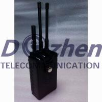 China Portable Car Signal Jammer , All Remote Controls Radio Frequency Blocker Jammer on sale