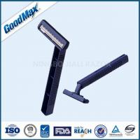 Smooth Glide Twin Blade Disposable Razor With Comfortable Plastic Handle Manufactures