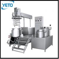 cosmetic emulsifier mixer,vacuum homogenizing emulsifying machine price,cream making equipment,team of homogenizer mixer Manufactures