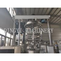 SS Cosmetic Cream Mixing Machine / Silent Lotion Manufacturing Equipment Manufactures