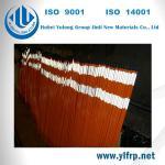 Pultrusion FRP Fiber Reinforced Polymer Fiberglass Marker , Driveway reflective Marker Manufactures