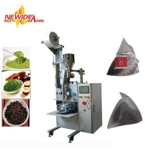China Automatic Ultrasonic Sealing Biodegradable Pyramid Tea Bag Packing Machine on sale