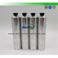 120ml Hand Cream Cosmetic packaging Flexible Empty Aluminum Collapsible Tubes with Screw Octagon caps Manufactures