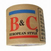 Kraft Paper Gummed Tape with 24 to 76mm Width, Eco-friendly Manufactures