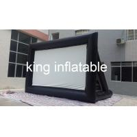 China Outdoor Inflatable Movie Screen / Projection Screen For Home Yard Or Advertisement Display on sale