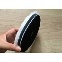 Single Side Wool Cleaning Foam Buffing Pads Wear Resistant For Car And Glass Manufactures