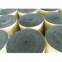 Quality SGS EVA Foam Insulation Material 5mm Sealing Black Waterproof Adhesive Roll for sale