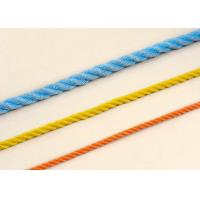 4mm-18mm Poly Propylene 3-strand twist Rope code line Manufactures