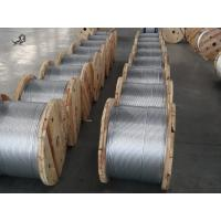 ASTM A 475 1*7 Zinc Coated Steel Wire Strand 1 4 Inch For High - Rise Buildings Manufactures