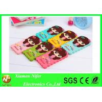 Lovely Girls 2D Silicone Custom Cell Phone Cases Mobile Phones Protective Covers for iPhone 6 Manufactures