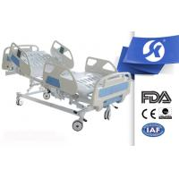 Professional Big Railing Electric Hospital Medical Bed With Nursing Panel Manufactures