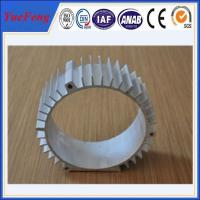 extruded aluminum profiles for motor housing china supplier Manufactures