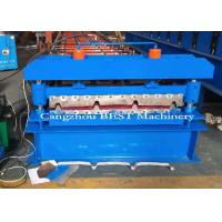 China 3 Kw Metal IBE And Corrugated Roof Roll Forming Machine With High Speed on sale