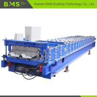 Quality Hidden Wall Roof Panel Roll Forming Machine , Steel Cold Roll Forming Machine for sale