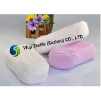 Strong Water Absorption Microfiber Car Wash Sponge White and Purple 90g/pcs Manufactures