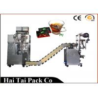 China Automatic Filling Function Herbs Tea Packaging Machine Triangle Dimensional on sale