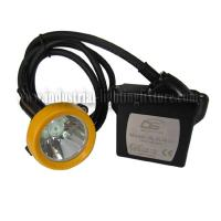 ATEX approved KL5LM ( C ) led cord miners cap lamp , Rechargeable Battery Manufactures
