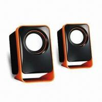USB 2.0 Speaker with 90cm Long Cable and 3.5mm Jack Audio Input Manufactures