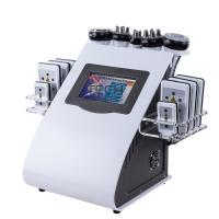 China 6 In 1 RF Cavitation Vacuum Laser Reduce Cellulite Machine Body Slimming Device on sale