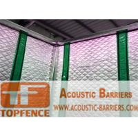 Temporary Sound Barriers Fence 40dB noise Industrial Acoustic Curtains Waterproof Acoustic Sound Barrier Manufactures
