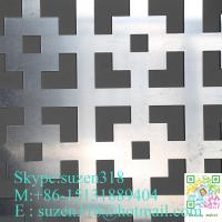 aluminum perforated hole acp sheet facade wall cladding decoration Manufactures