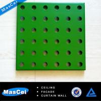 China 60x60 Decorative Acoustic Ceiling Tiles and Perforated Steel on sale