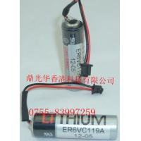China CNC/PLC Toshiba  ER6VC119A  3.6v  2000mAh Lithium Battery (Original Made) on sale