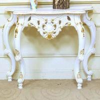 Polyresin Console Table with Mirror New Design, Best Seller Manufactures