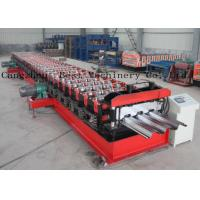 China Customized Metal Steel Deck Sheet Roll Forming Making Machine Supplier on sale