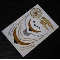 99 designs FDA Sexy Necklace jewlery star gold silver waterproof wholesale flash tattoos Manufactures