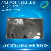 ATM wide angle reflect fresnel lens back mirror speculum Cash Machine 120X75mm Manufactures