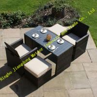 MTC-227 New model in 2015 of outdoor rattan dining set,garden 2 seaters cube dining set Manufactures