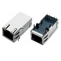 8 Pin / 10 Pin RJ45 Magnetic Jack Network Connector With EMI Fingers Manufactures