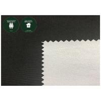 163 GSM Pongee Recycled Plastic Bottle Fabric , 100 Recycled Polyester Fabric Manufactures