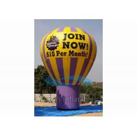 Outdoor Inflatable Grand Advertising Ground Balloon For Advertisement / Parties for sale