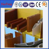 OEM aluminum profiles for heat sink manufacturer, aluminum company supply types of profile Manufactures