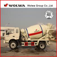China Wolwa new 4 CBM of concrete mixer truck for sale on sale