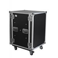 China 19 inches 16U Rack and shockmount case for amplifiers and effects on sale