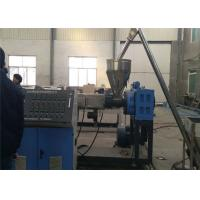 PE Plastic Board Making Machinery , PE Wood Plastic Board Extrusion Line For Sheet Board Manufactures
