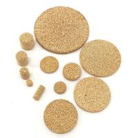 Energy Efficient Porous Sintered Metal Filter Disc For Reverse Osmosis Security Filtering Manufactures
