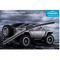 China Professional U Hook Windscreen Wiper Blade Available Car In Black For LHD / RHD on sale