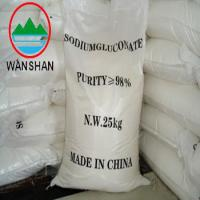 Quality sodium gluconate cosmetics supplier with 98% solid content used for concrete admixture as retarder salt content for sale