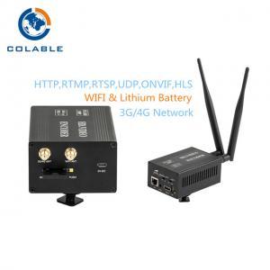 Wireless 3G 4G H 264 H 265 Video Encoder Hdmi Wifi Encoder COL8201HG Manufactures