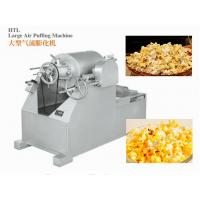 ISO9001 Candy Packaging Machine / Large Air Puffing Machine For Cake , Bread And Rice Bar Manufactures