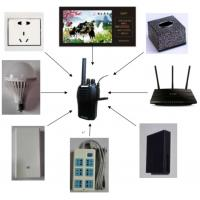 Buy cheap Long Transmission Wall Listening Device Wireless Listening System Built In Microphone from wholesalers