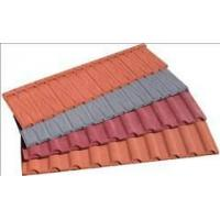 China Stone coated Metal Roof Tile on sale
