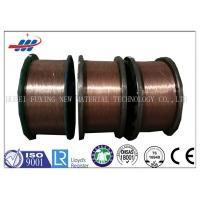 Motorcycles Type Copper Coated Steel Wire High Elongation with 0.96mm-1.65mm Dia Manufactures