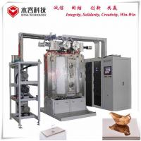 Vacuum Ion Plating Machine, PVD TiN Gold Plating Equipment, Glass amber coating, Glass candel holder coating Machine Manufactures
