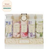 Womens Bubble Bath Gift Sets 305ml Shower Gel 200ml Body Lotion ODM Service Manufactures